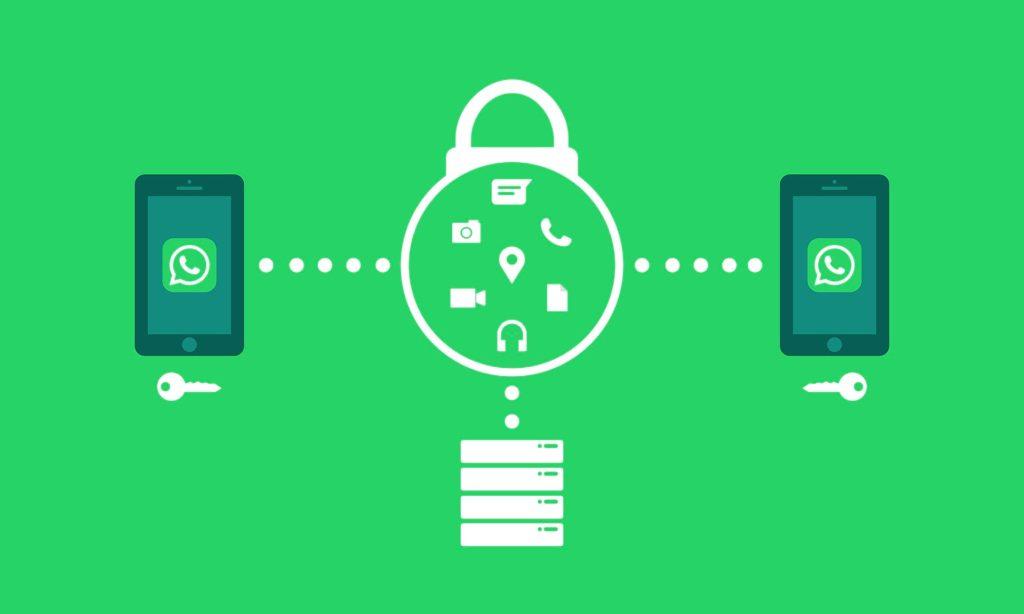 Datos y comunicaciones seguras con la encriptación o el cifrado de extremo a extremo con WhatsApp - Alodesk