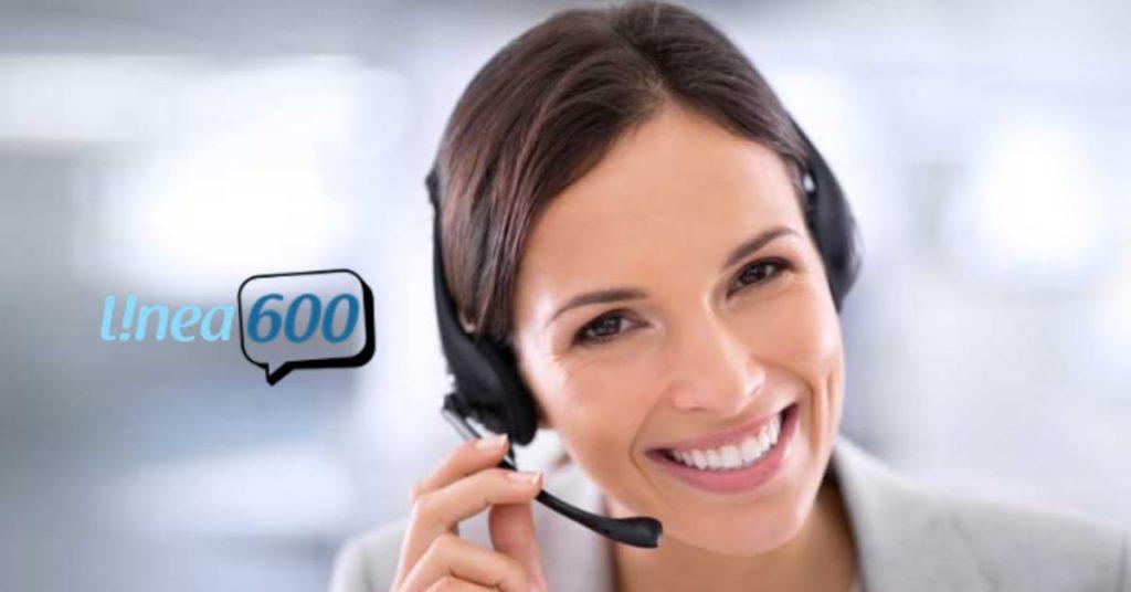 Servicio de línea 600 para empresas en Chile