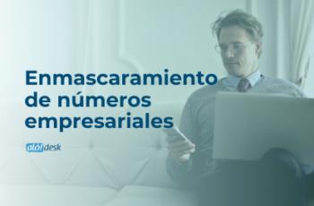 Enmascaramiento de números empresariales con Alodesk