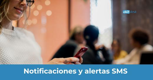 Envío masivo de notificaciones y alertas SMS
