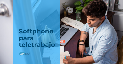 Nueva aplicacion de Softphone para teletrabajo, con complemento de Alodesk
